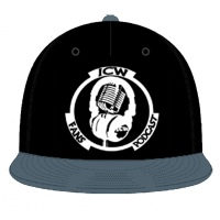 Original White Logo Snapback (Black & Grey)