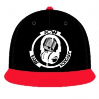 Original White Logo Snapback (Black & Red)