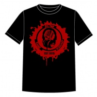 Original Red Logo Est T.shirt (Black)