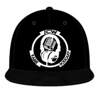 Original White Logo Snapback (Black)
