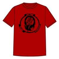 Original Black Logo T.shirt (Red)