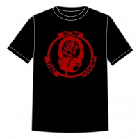 Original Red Logo T.shirt (Black)